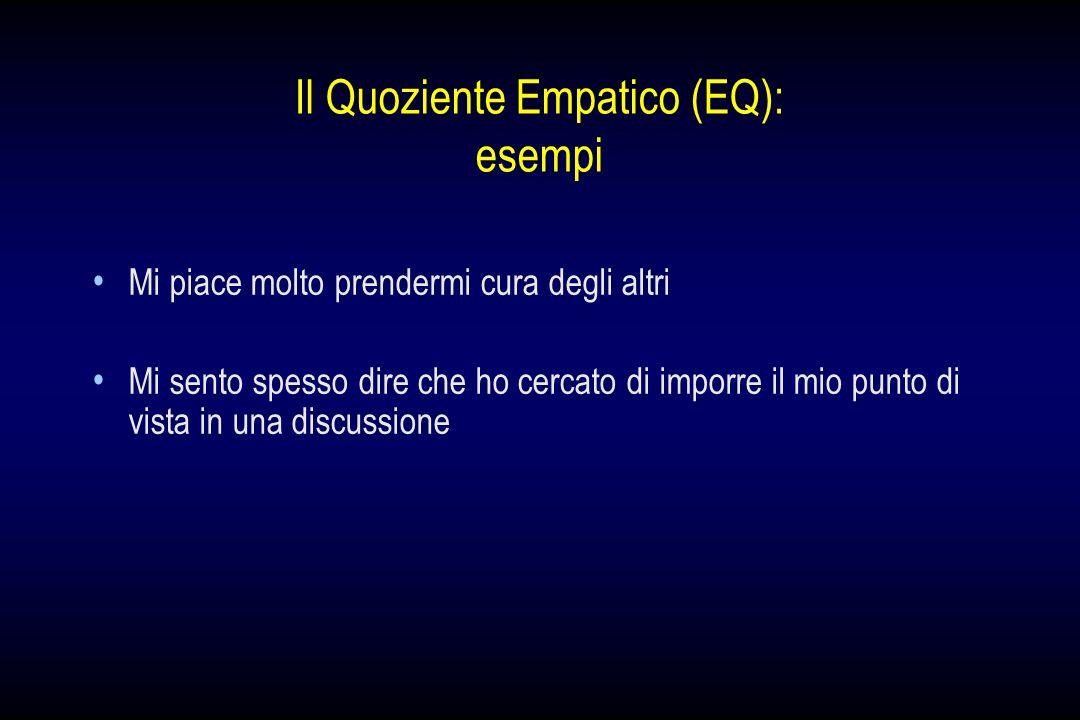 Il Quoziente Empatico (EQ): esempi