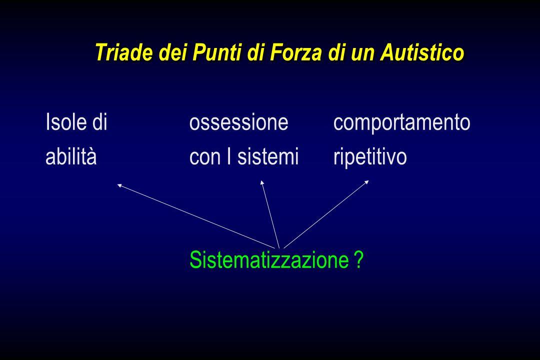 Triade dei Punti di Forza di un Autistico