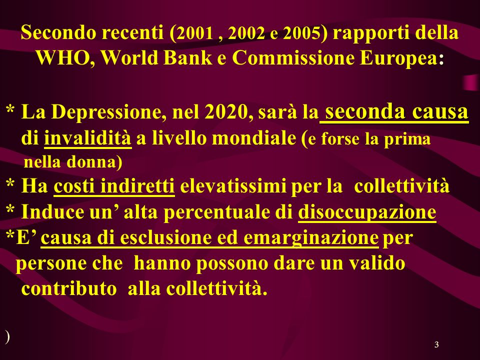 WHO, World Bank e Commissione Europea:
