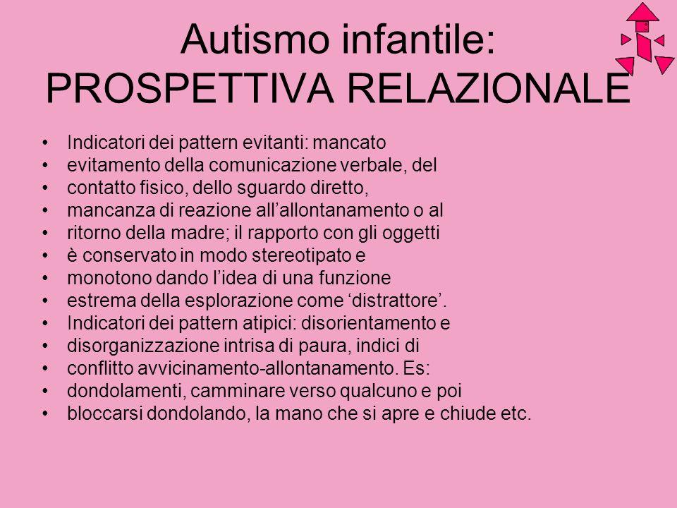 Autismo infantile: PROSPETTIVA RELAZIONALE