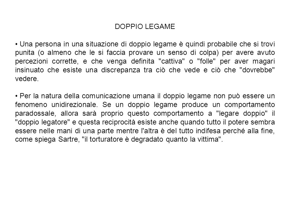 DOPPIO LEGAME