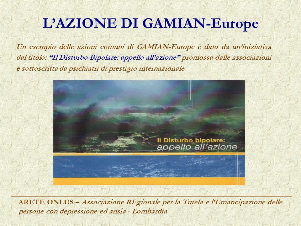 L'AZIONE DI GAMIAN-Europe