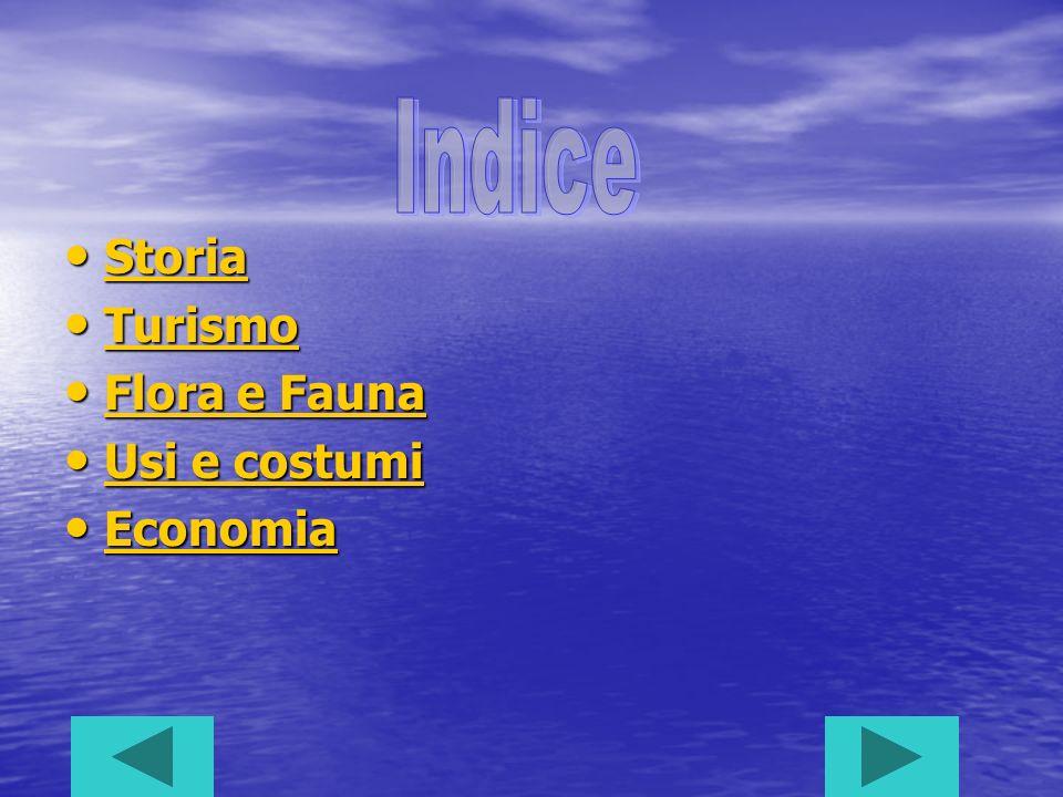 Indice Storia Turismo Flora e Fauna Usi e costumi Economia