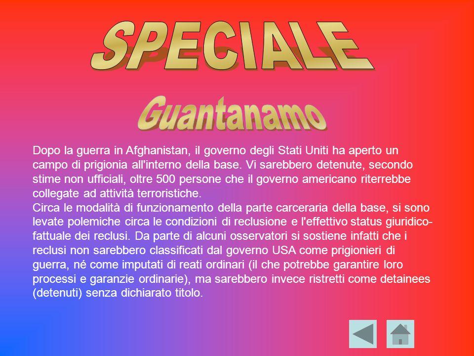 SPECIALE Guantanamo.