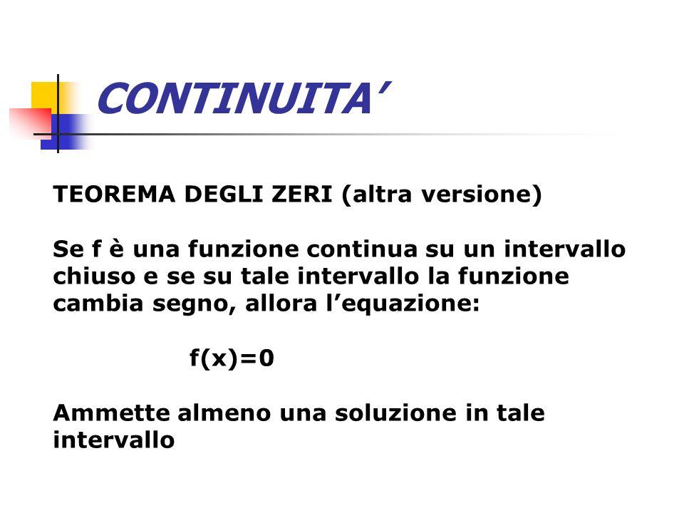 CONTINUITA' TEOREMA DEGLI ZERI (altra versione)