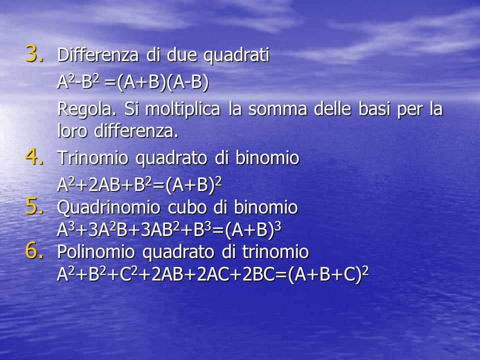 Differenza di due quadrati