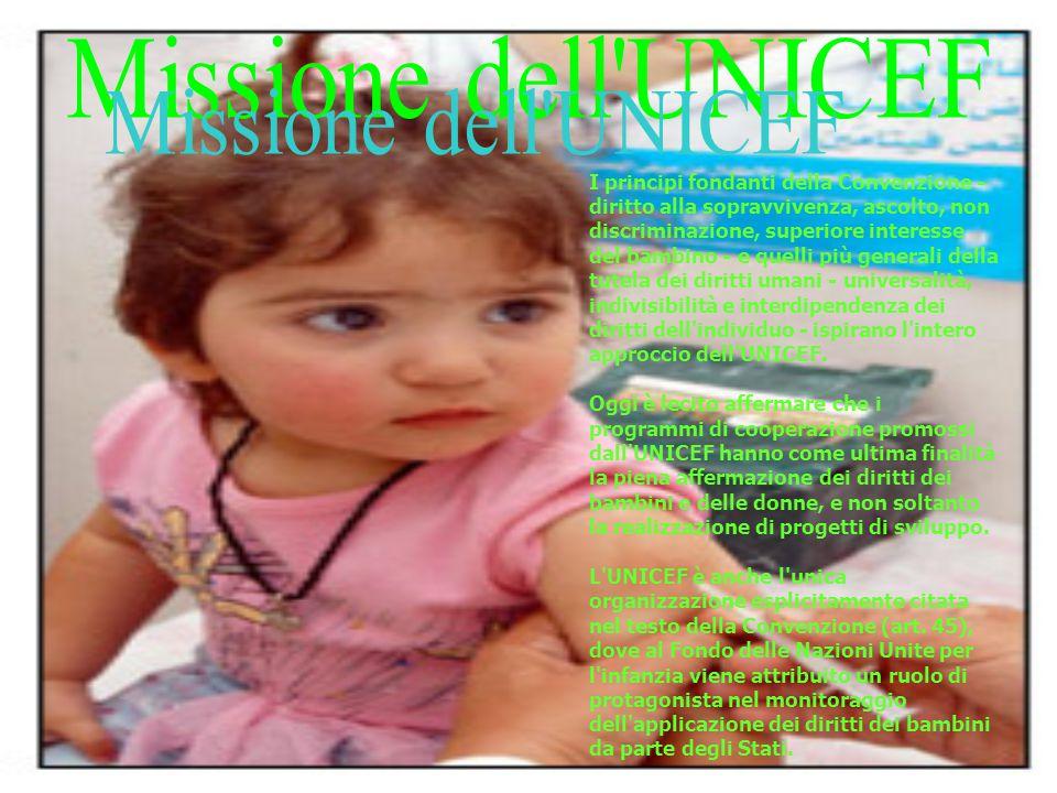 Missione dell UNICEF