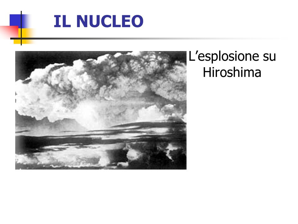 L'esplosione su Hiroshima