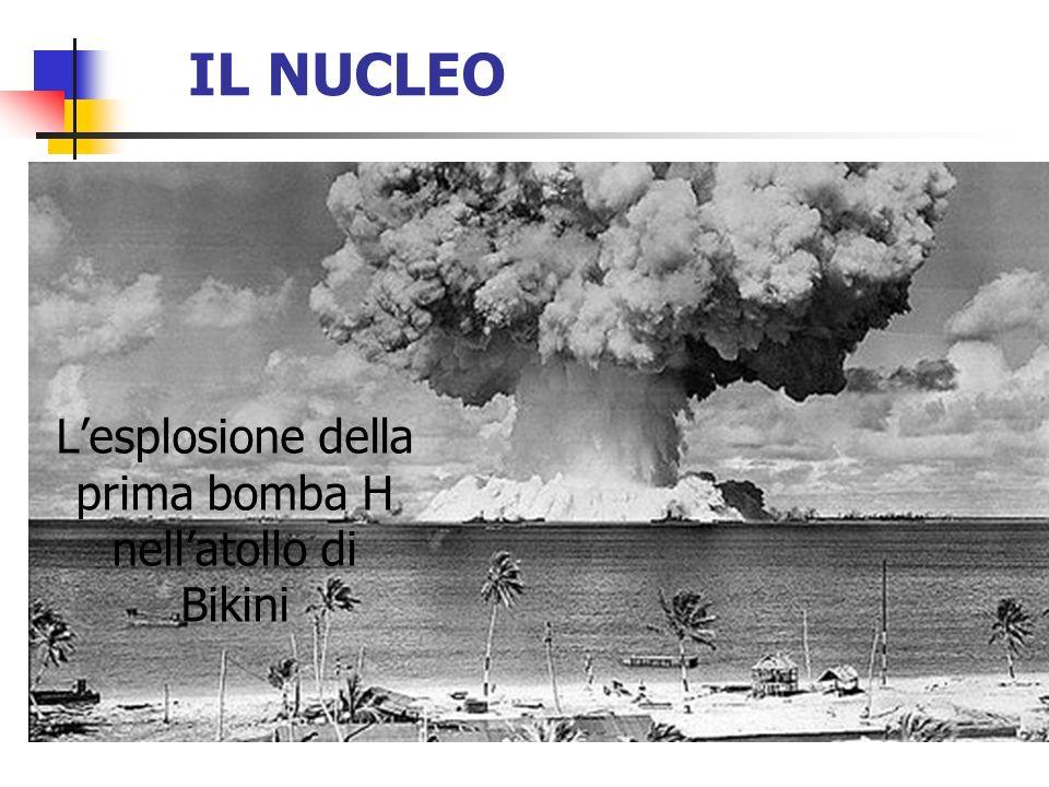 L'esplosione della prima bomba H nell'atollo di Bikini
