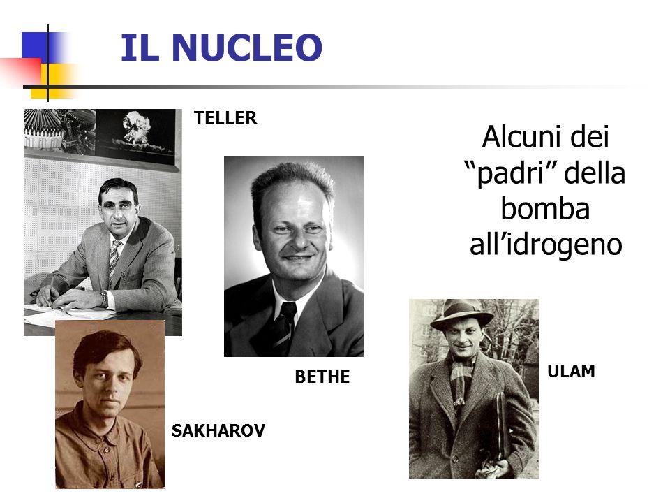 Alcuni dei padri della bomba all'idrogeno