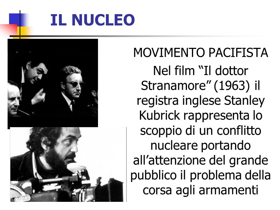 IL NUCLEO MOVIMENTO PACIFISTA
