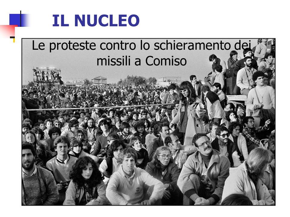 Le proteste contro lo schieramento dei missili a Comiso