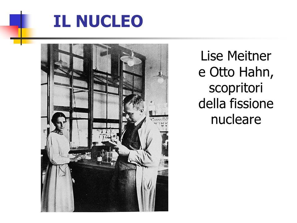 Lise Meitner e Otto Hahn, scopritori della fissione nucleare