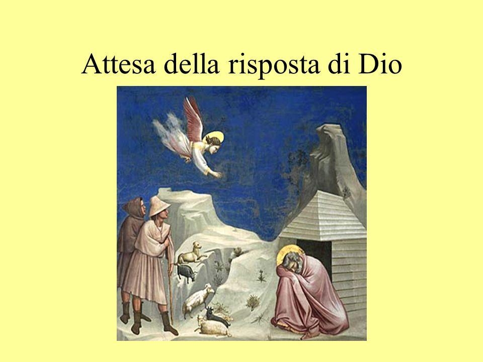 Attesa della risposta di Dio