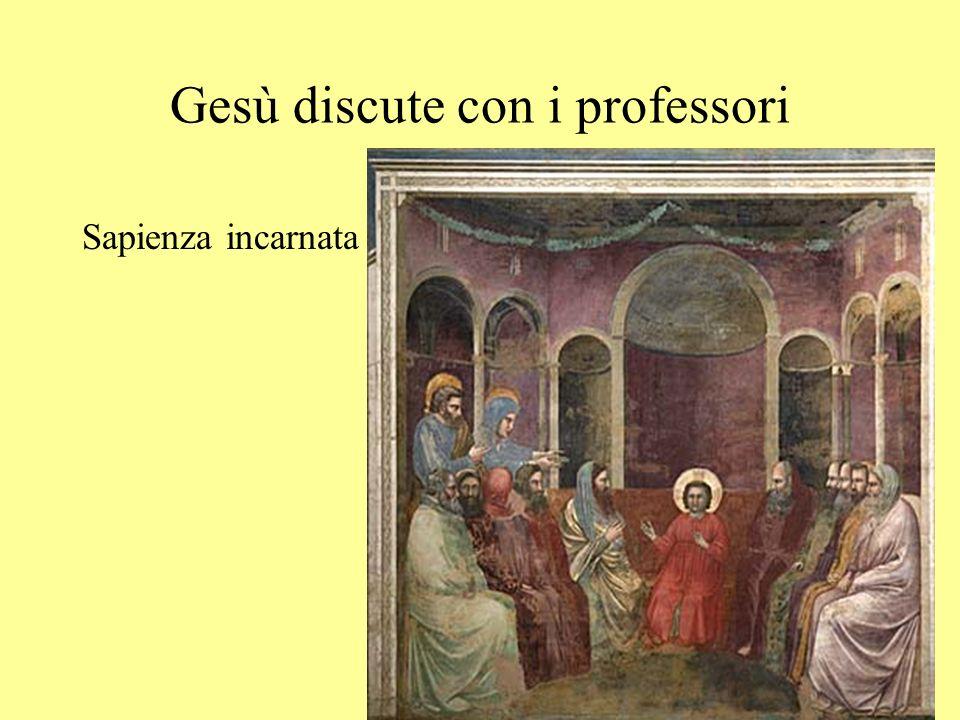 Gesù discute con i professori