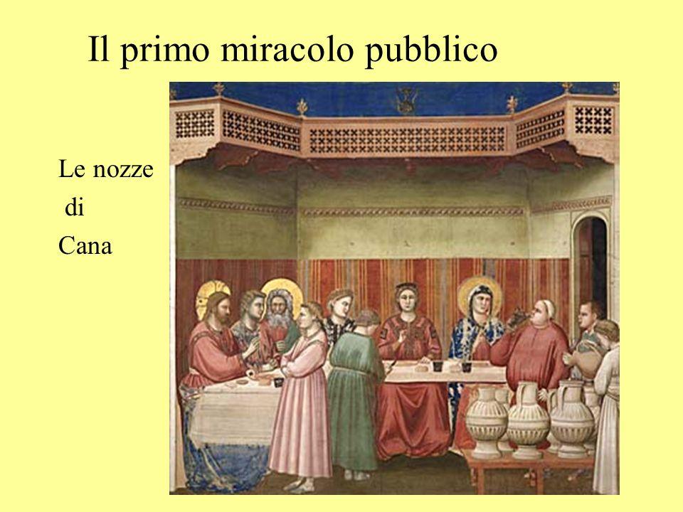 Il primo miracolo pubblico