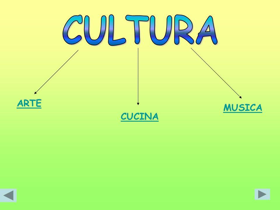 CULTURA ARTE MUSICA CUCINA