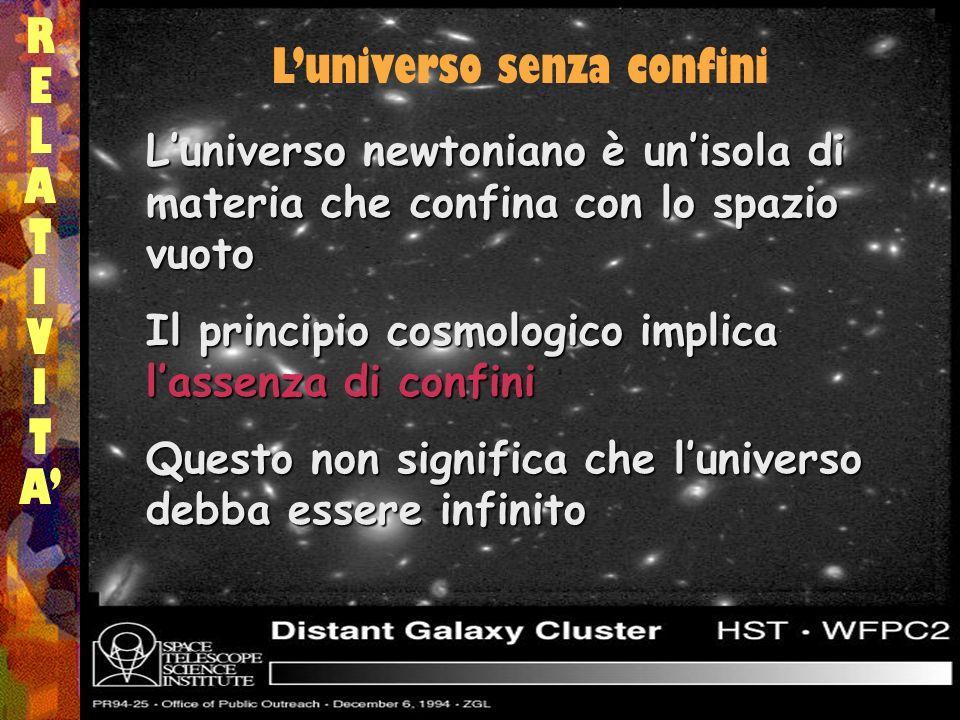 L'universo senza confini