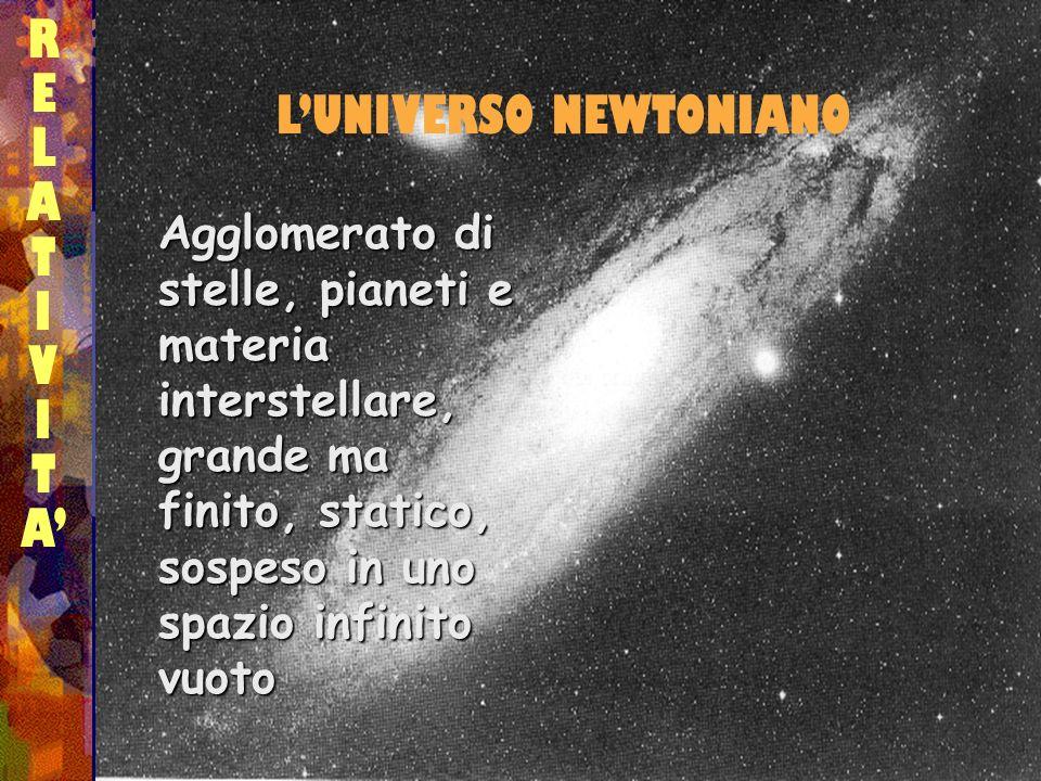 L'UNIVERSO NEWTONIANO