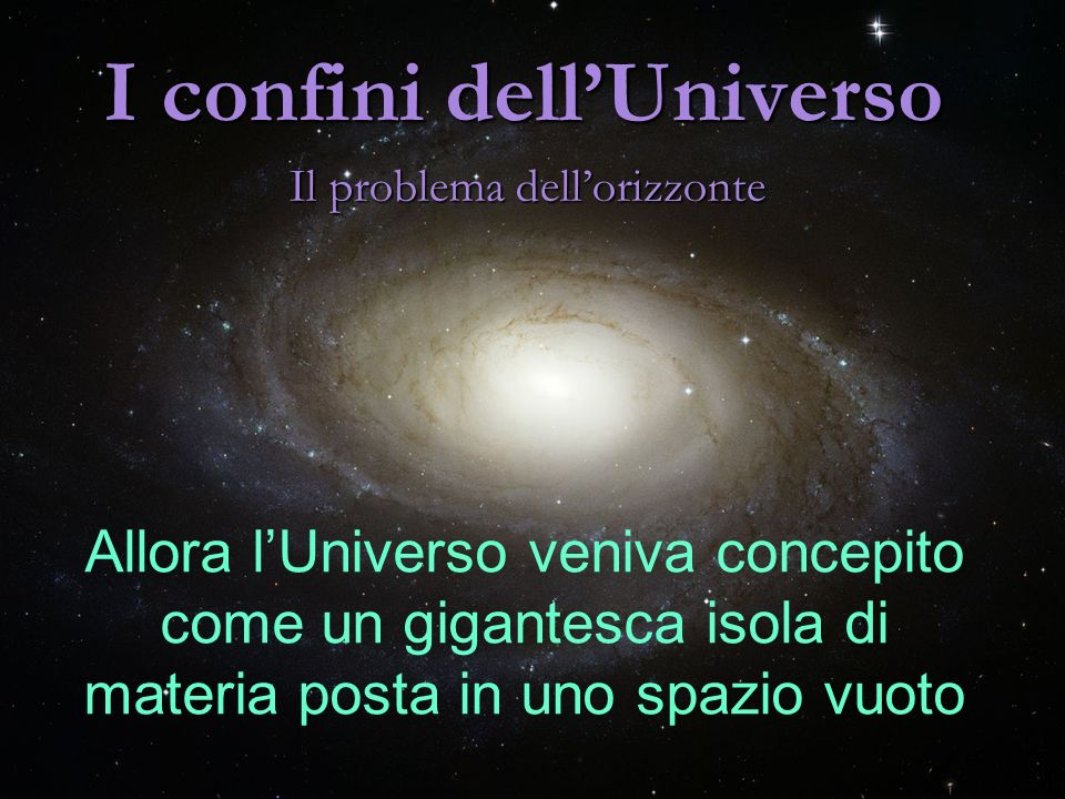 I confini dell'Universo