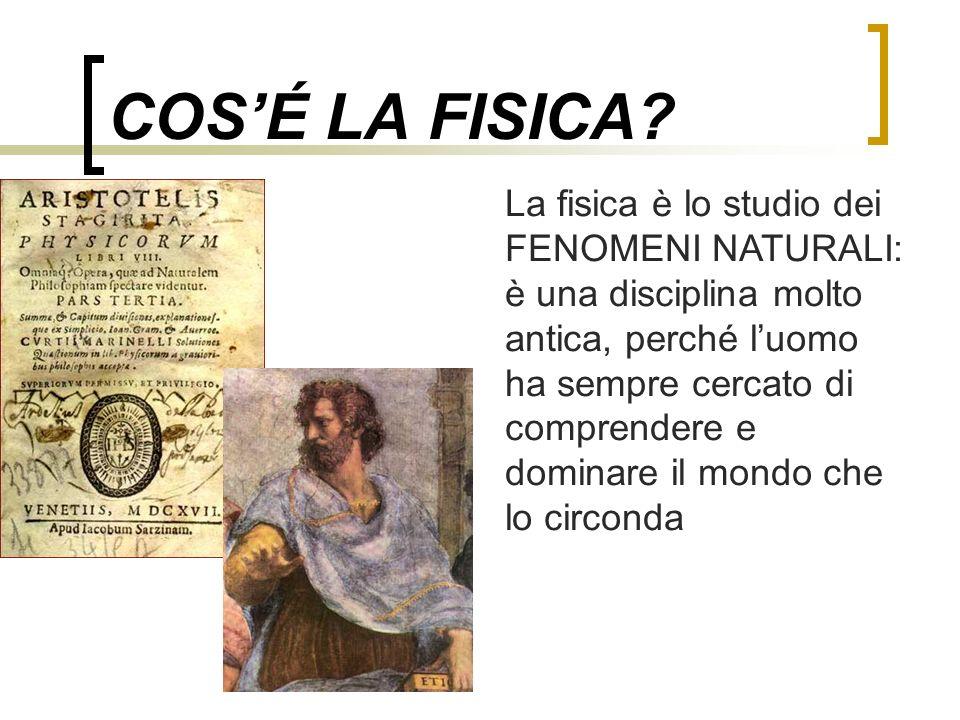 COS'É LA FISICA
