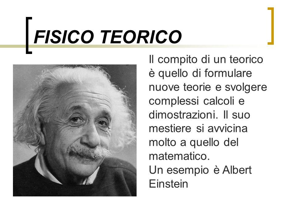 FISICO TEORICO
