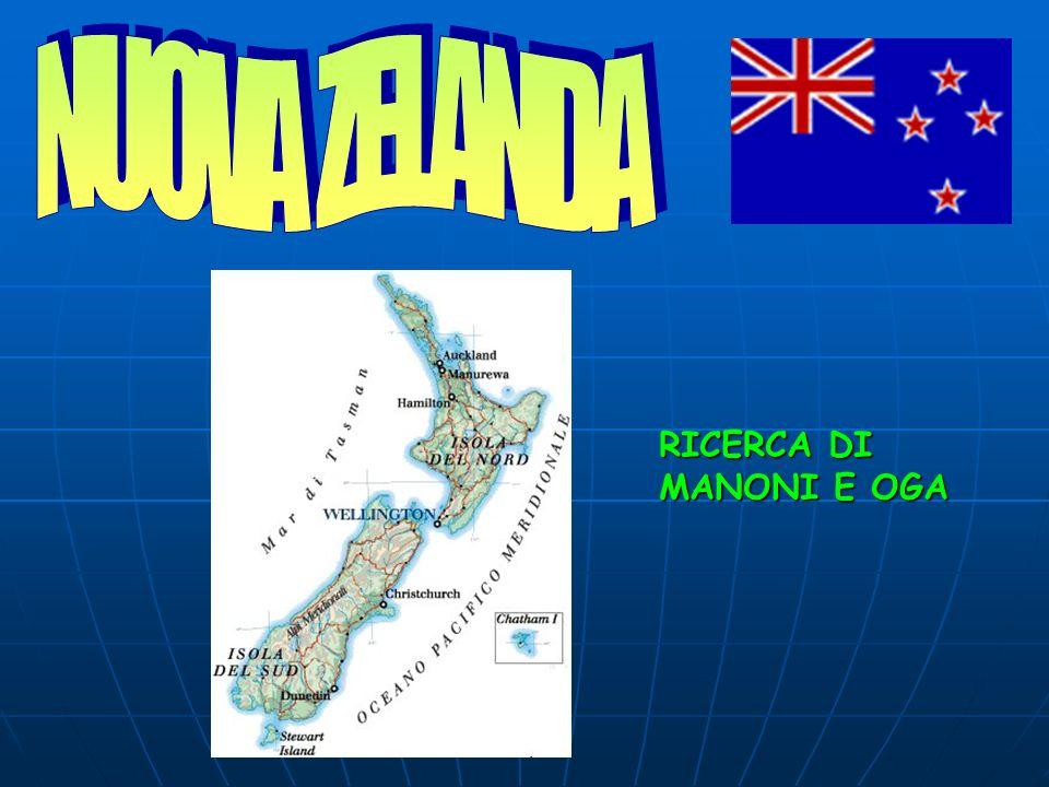 NUOVA ZELANDA RICERCA DI MANONI E OGA