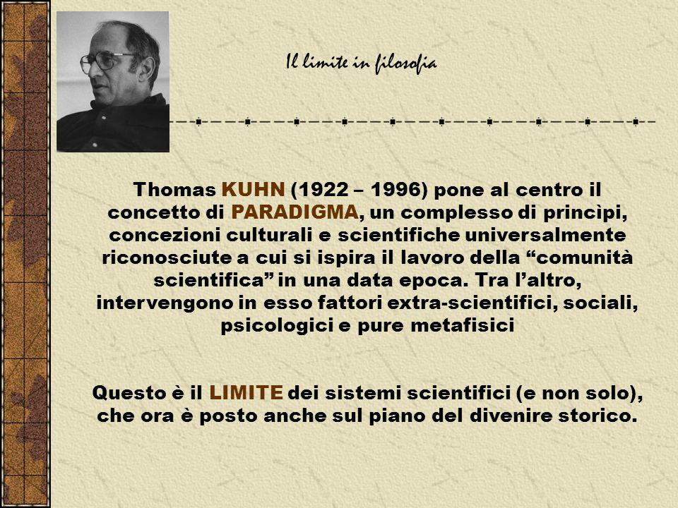 Il limite in filosofia