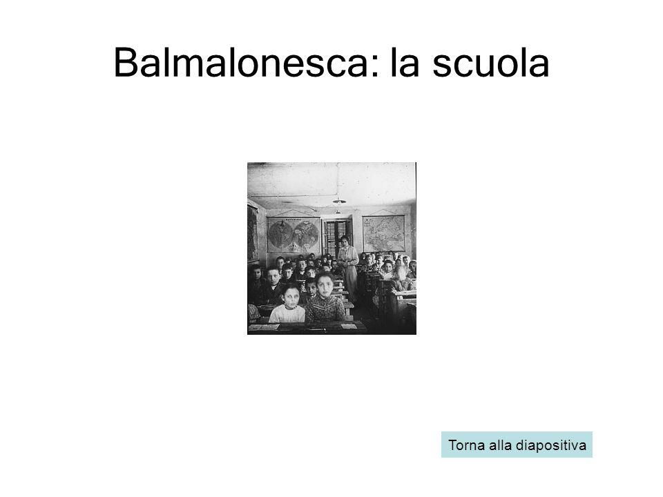 Balmalonesca: la scuola
