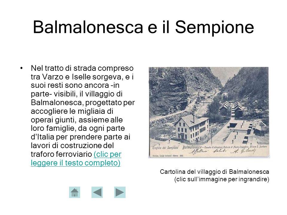 Balmalonesca e il Sempione