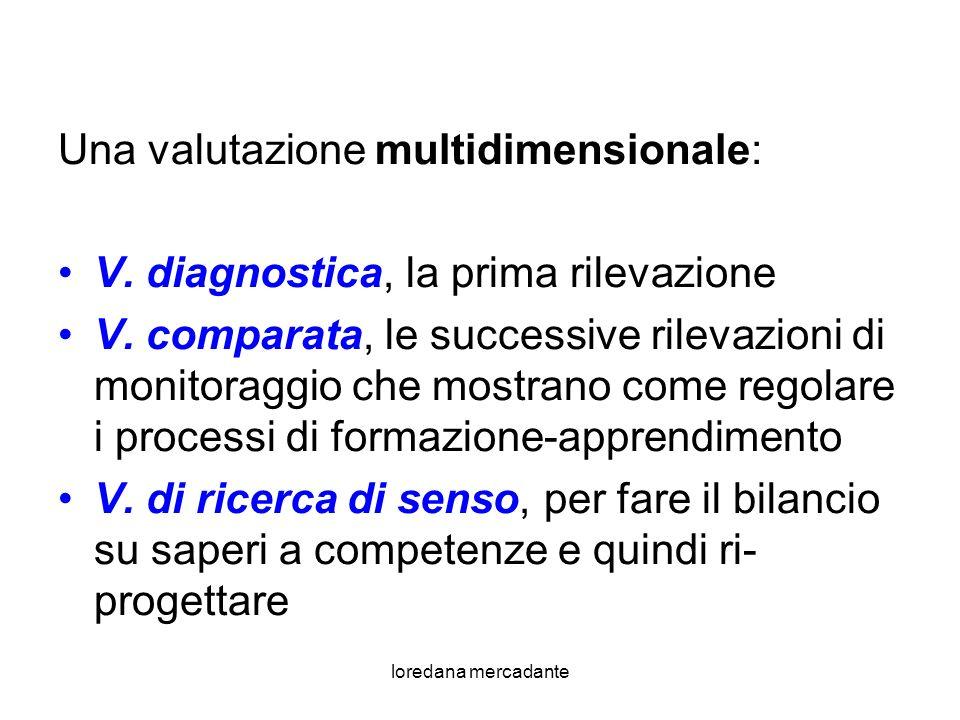 Una valutazione multidimensionale: