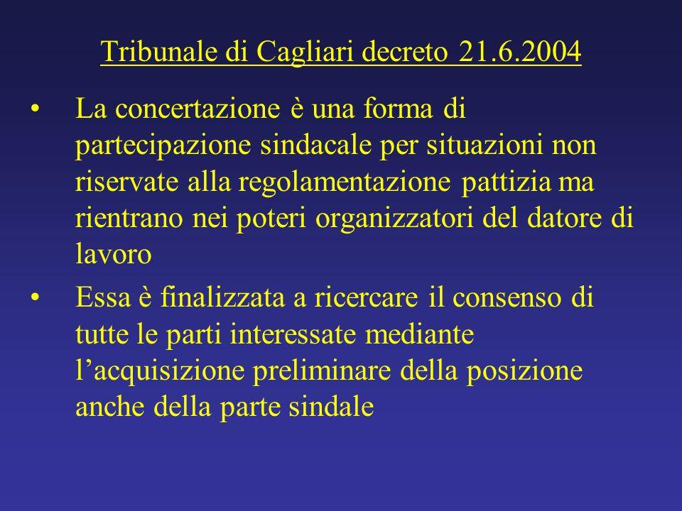 Tribunale di Cagliari decreto 21.6.2004