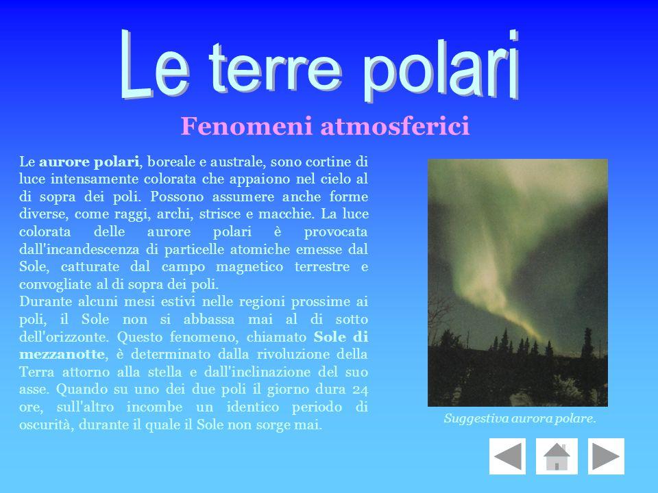 Le terre polari Fenomeni atmosferici
