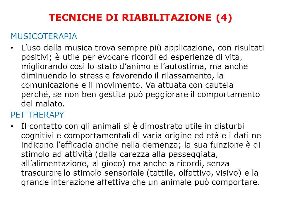 TECNICHE DI RIABILITAZIONE (4)