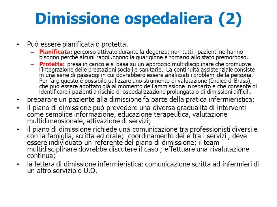 Dimissione ospedaliera (2)