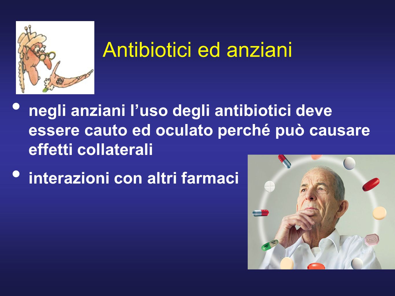 Antibiotici ed anziani