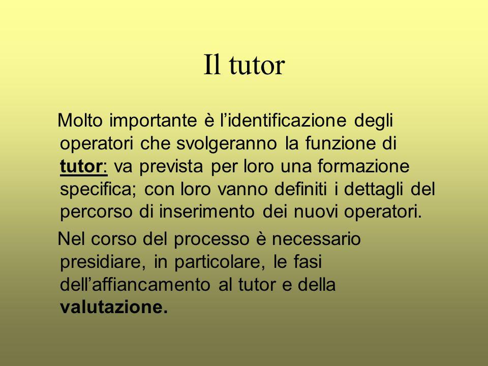 Il tutor