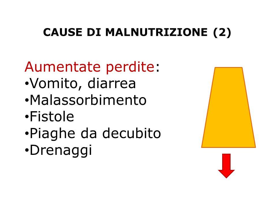 CAUSE DI MALNUTRIZIONE (2)
