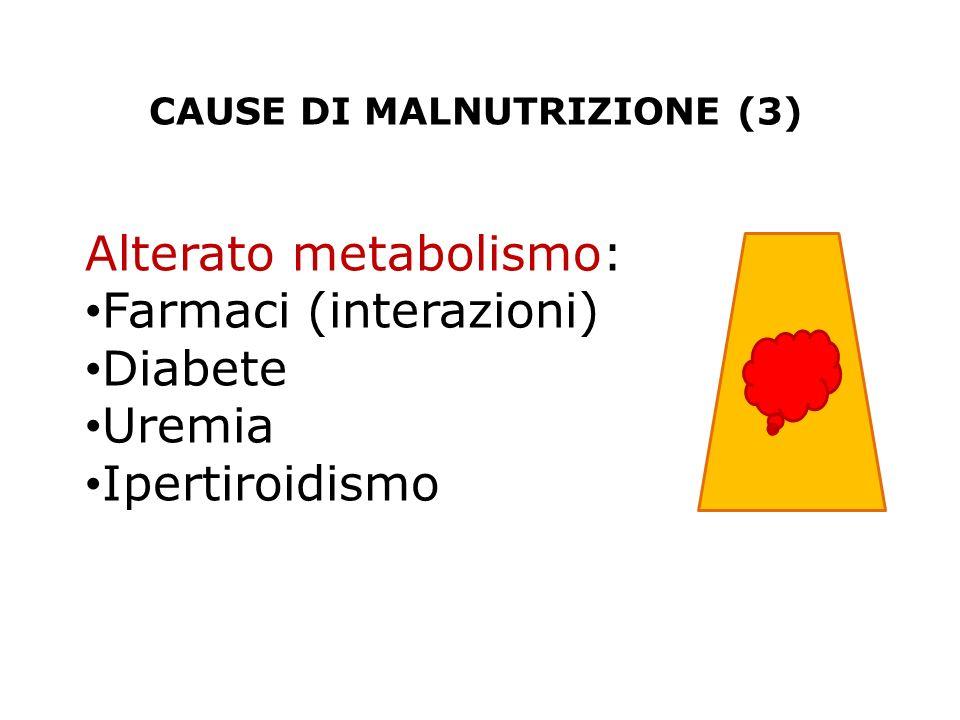 CAUSE DI MALNUTRIZIONE (3)
