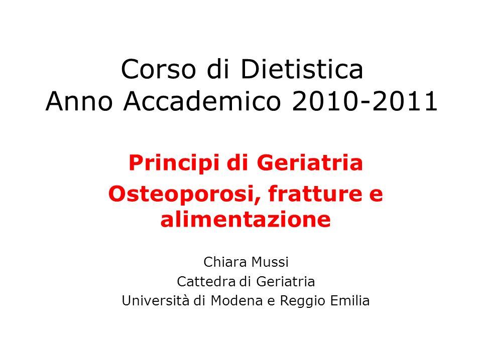Corso di Dietistica Anno Accademico 2010-2011