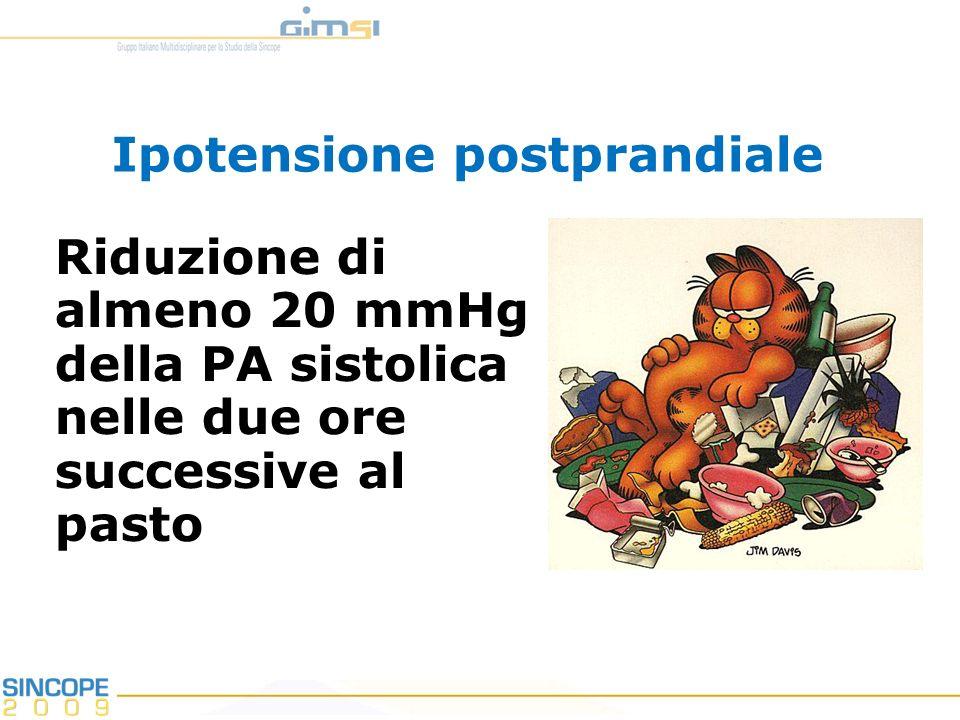 Ipotensione postprandiale