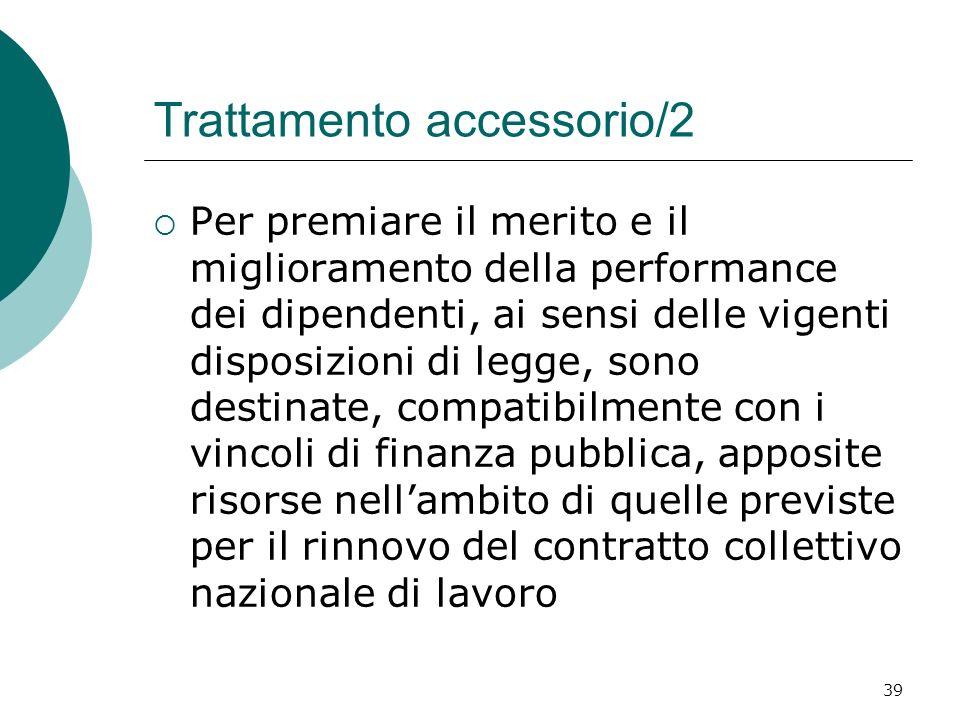 Trattamento accessorio/2