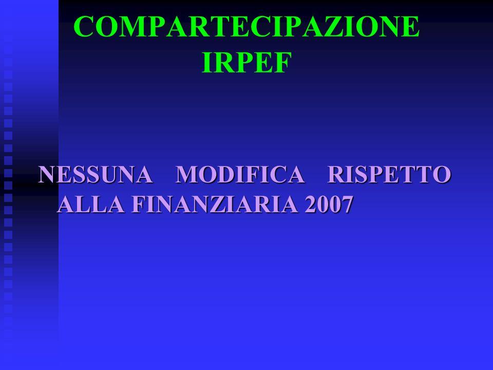 COMPARTECIPAZIONE IRPEF