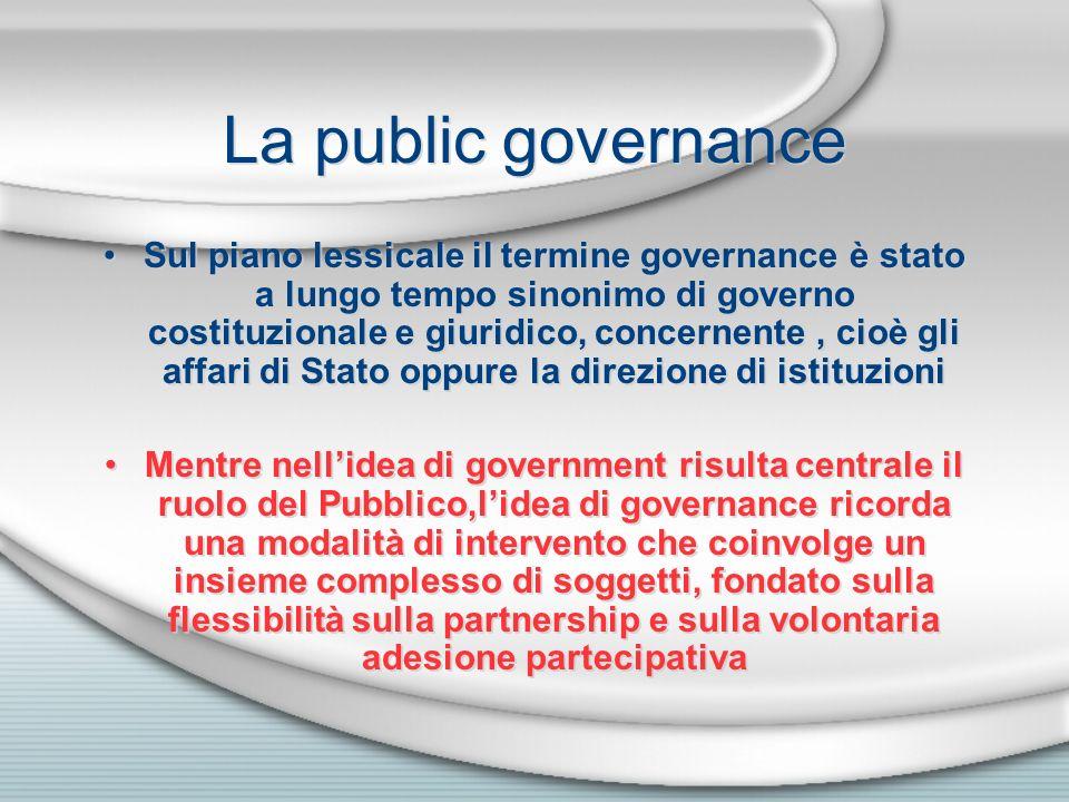 La public governance