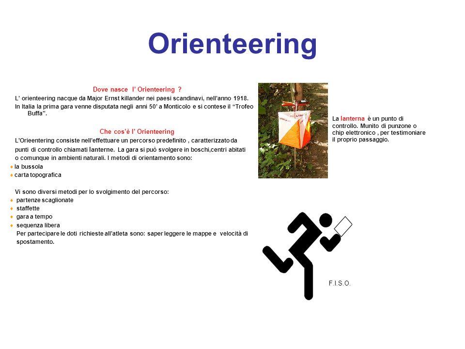 Dove nasce l' Orienteering Che cos'è l' Orienteering