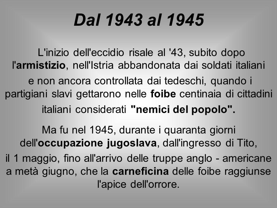 italiani considerati nemici del popolo .