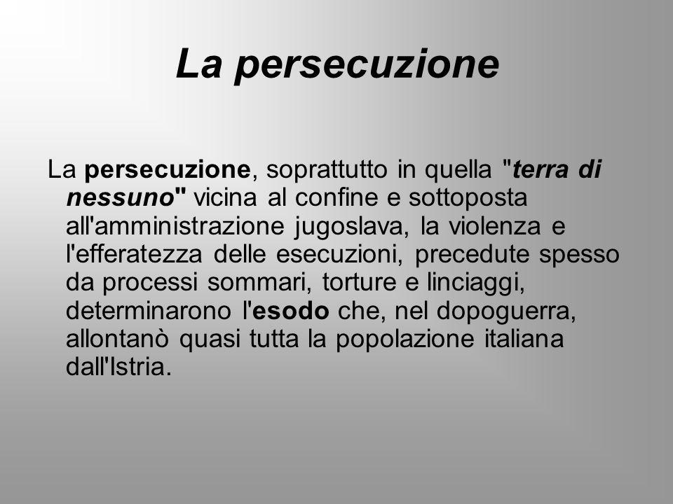 La persecuzione