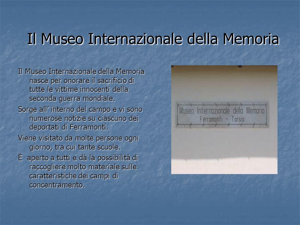 Il Museo Internazionale della Memoria