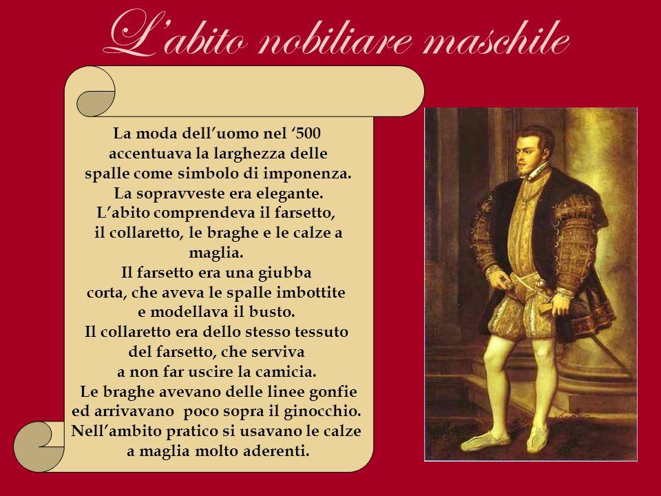 L'abito nobiliare maschile