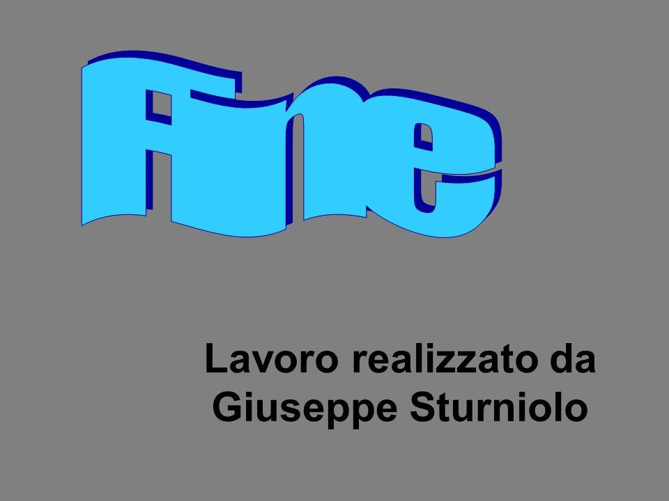 Lavoro realizzato da Giuseppe Sturniolo